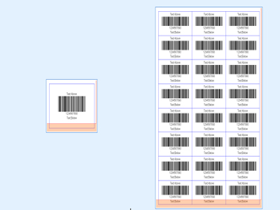 Barcode Maker is professional barcode software makes barcodes for 26 barcode fonts. Print or export barcode list in MS Excel file or Text file, import barcode list with desired field as barcode data and other properties. Support all barcode labels.